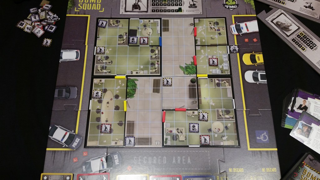 Set up and ready to go. It's just a handful of locked doors, helpless victims, hair-trigger bombs and an ever-ticking timer. How bad could it be?