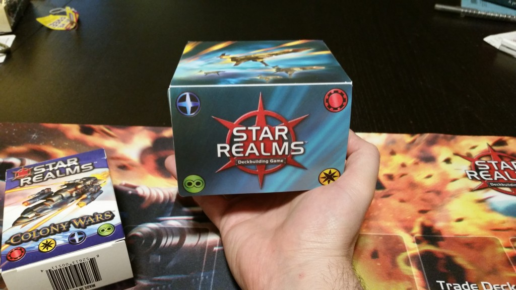With the addition of Colony Wars, I had to upgrade to a fancier box. Worth it!