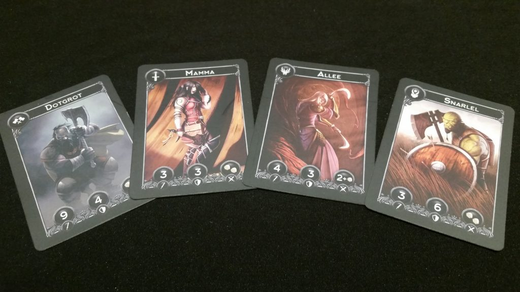 Each of the 4 army decks do have a really nice aesthetic