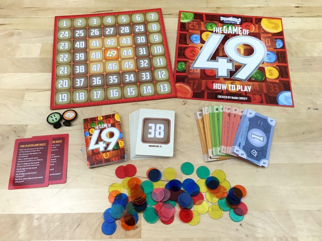 Looks a little like Bingo with numbers, doesn't it?