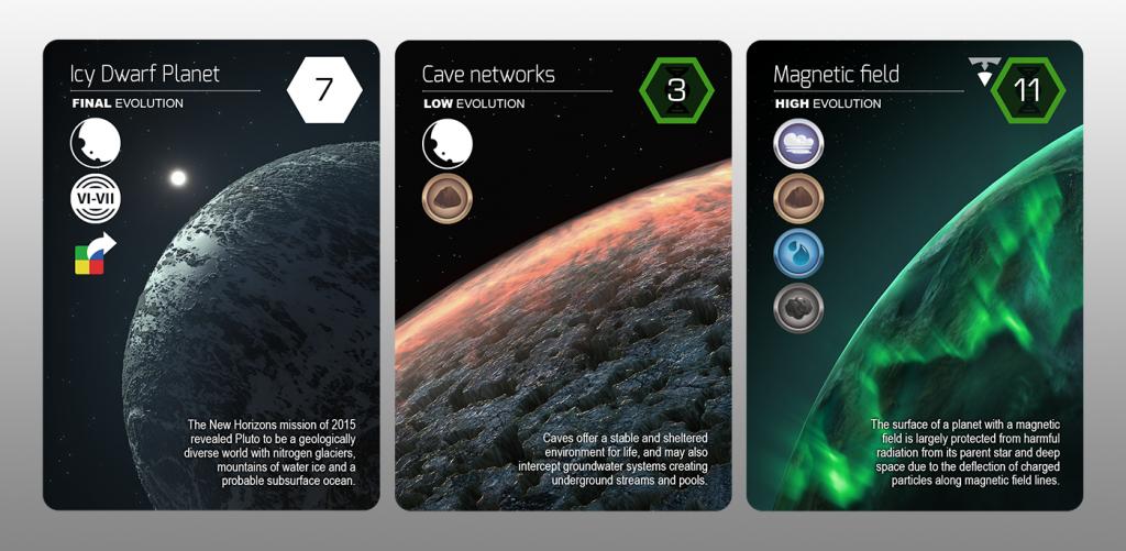 Planetarium CardSamples