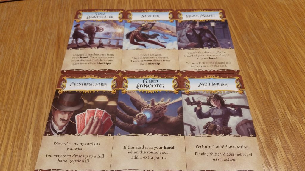 Examples of Special cards.