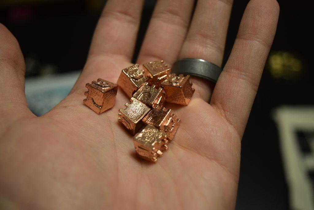 Copper bits. Gorgeous.