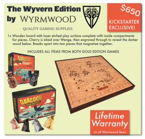 Wyrmwood dragoon edition board