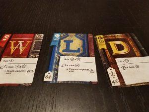 Hardback cards