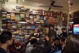 the uncommons board game cafe Ivan Van Norman