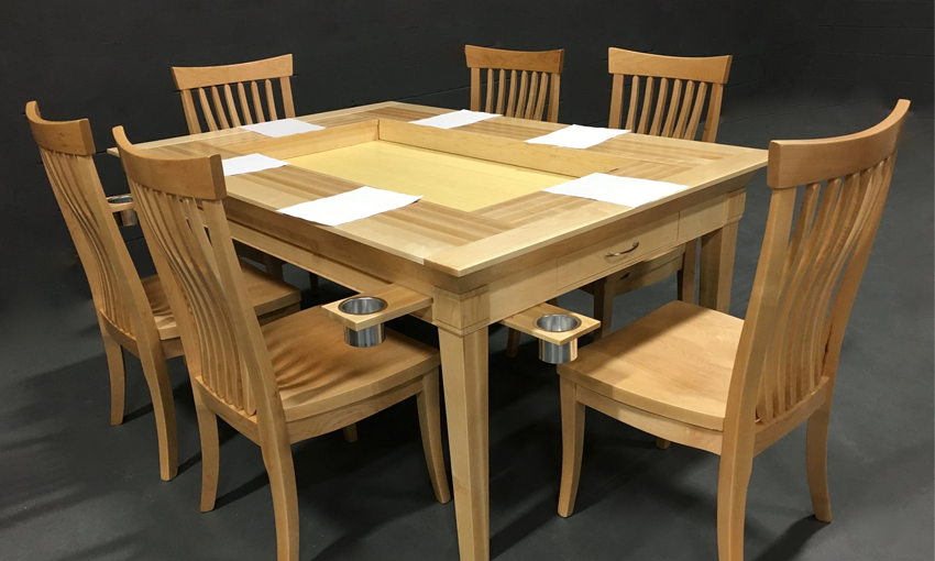 geek chic table
