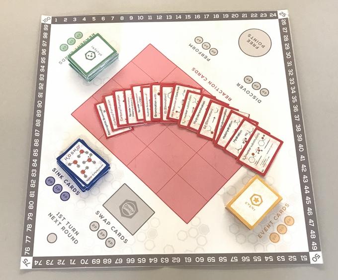 React! board game
