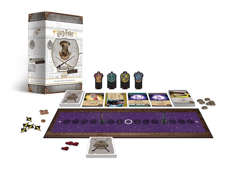 Usaopoly Announces Magical New Lineup Of Harry Potter Games