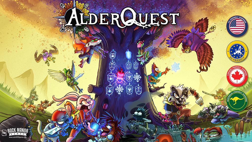 AlderQuest on Kickstarter