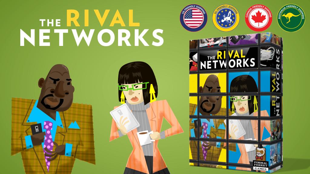 The Rival Networks Kickstarter banner