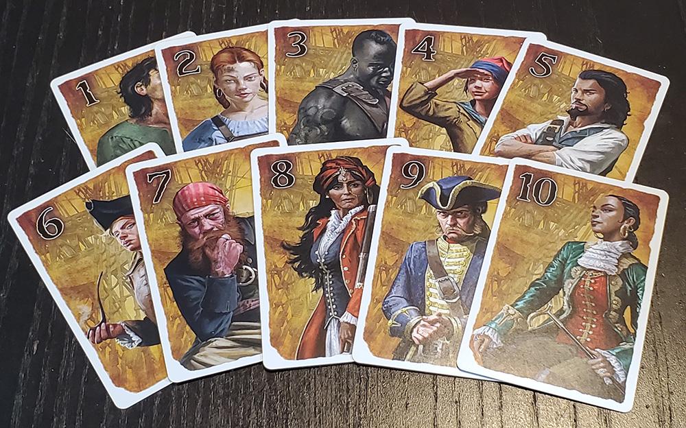 ShipShape Crew cards