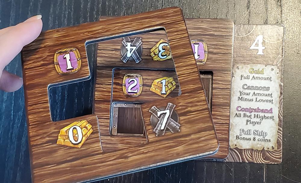 ShipShape adding tiles to hold