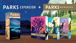 Parks Nightfall and Memories Kickstarter