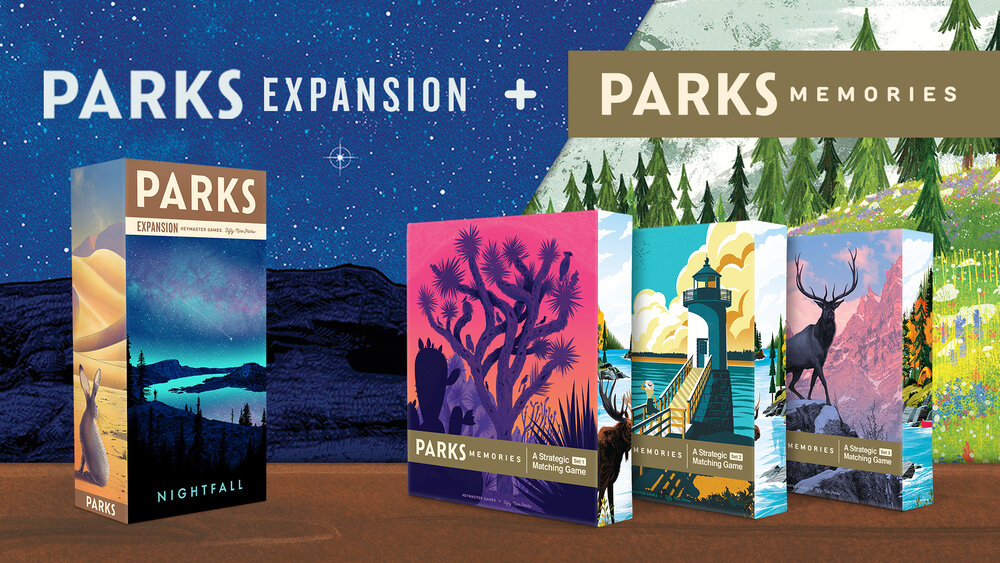 Parks Nightfall and Memories Kickstarter