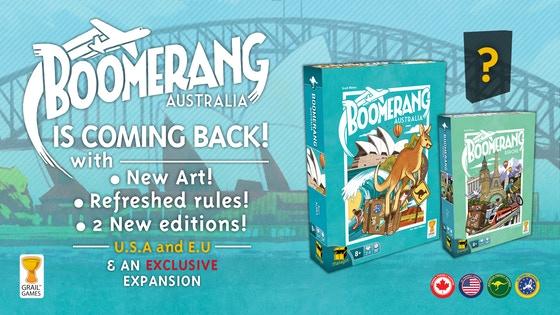 Boomerang is Back Kickstarter banner