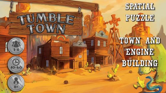 Tumble Town Kickstarter Banner