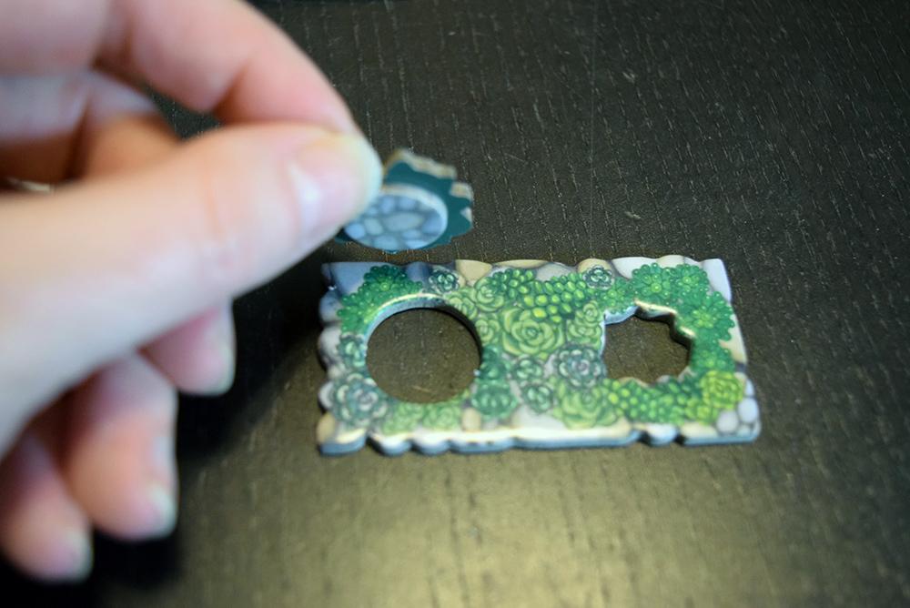 Succulent dual-layered pieces