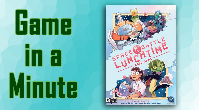 Space Battle Lunchtime Card Game Game in a minute title screen