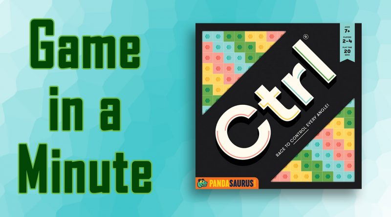Ctrl Game in a minute title