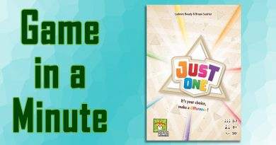 Game in a Minute: Just One