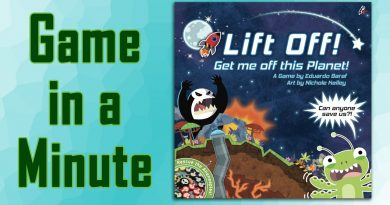 Game in a Minute: Lift Off! Get me off this Planet!