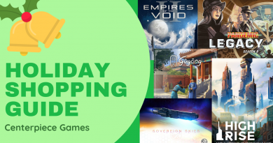 Gameosity's Holiday Shopping Guide: Centerpiece Games