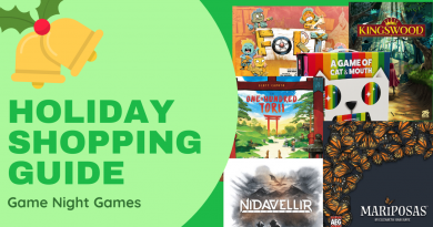 Gameosity's Holiday Shopping Guide: Game Night Games