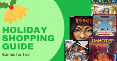Gameosity's Holiday Shopping Guide: Games for Two