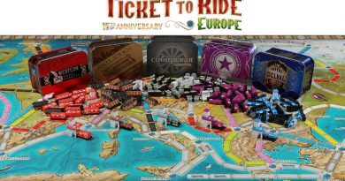Ticket to ride 15th anniversary board and bits