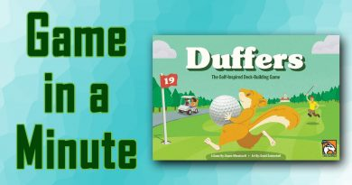 Game in a Minute Duffers title screen