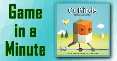 Game in a Minute: CuBirds