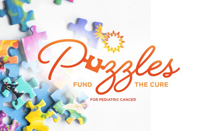 puzzles fund the cure logo