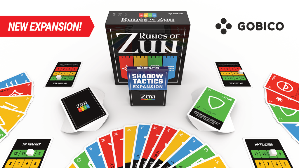 Game components with expansion pack