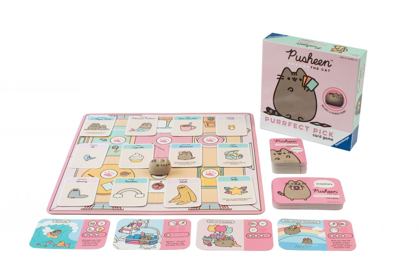 Pusheen Purrfect Pick board and components