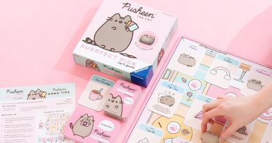 Pusheen Purrfect Pick board in play