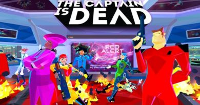 the captain is dead title