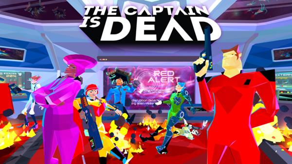 the captain is dead title