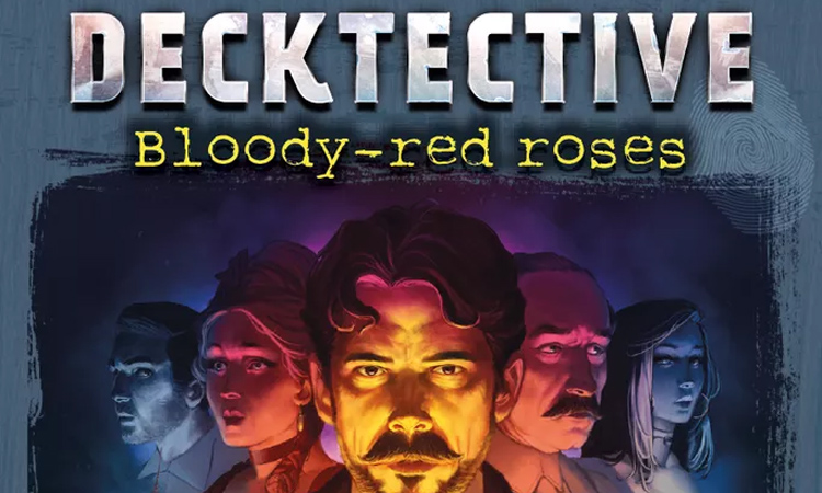 Decktective Bloody-Red Roses Brand New /& Sealed
