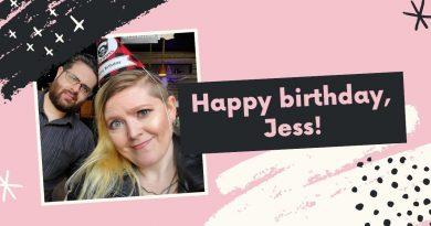 Jess's Birthday Giveaway!