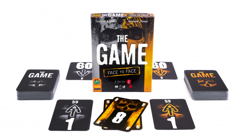The Game Face to Face box and components