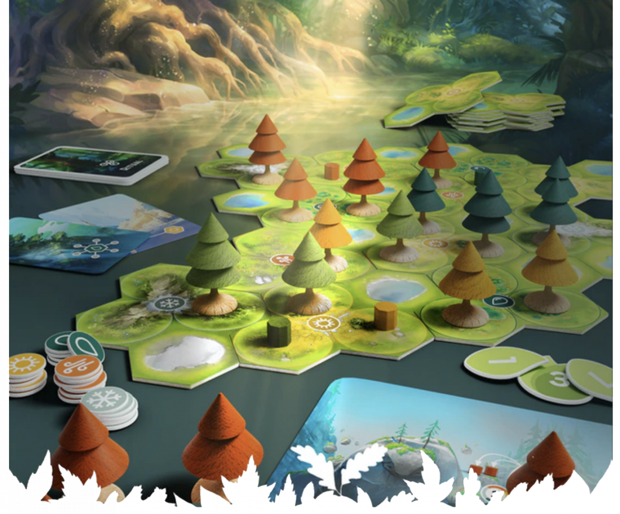 Forests of Pangaia components