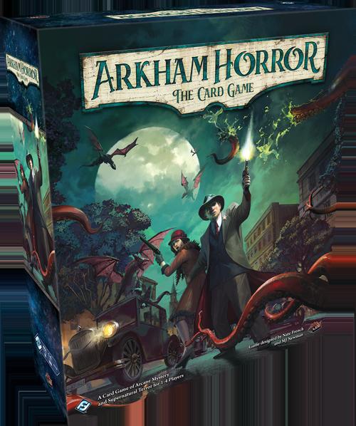 Arkham Horror LCG box