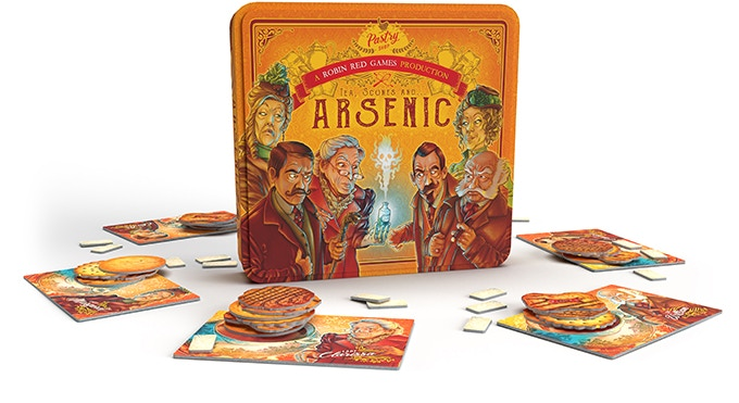 tea scones and arsenic components