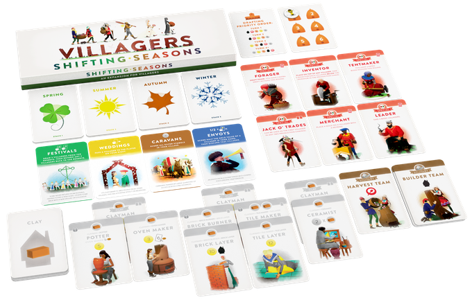 villagers shifting seasons components