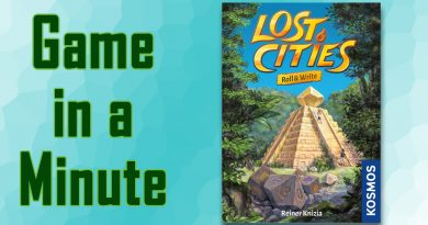 Game in a Minute: Lost Cities: Roll & Write