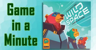 Game in a Minute: Wild Space